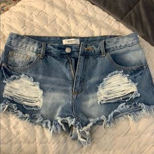 Forever 21 jean shorts